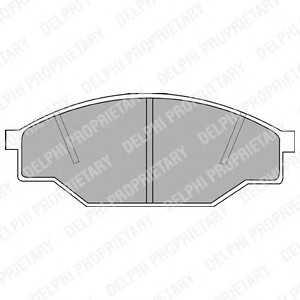 DELPHI LP538 Brake Pad