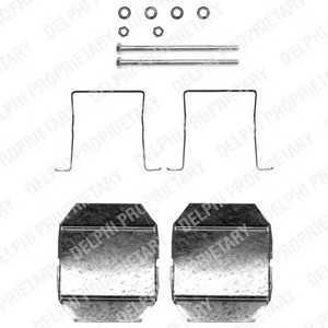DELPHI LX0338 Комплектующие, колодки дискового тормоза Ситроен Cx