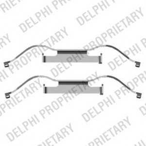 DELPHI LX0440 Комплектующие, колодки дискового тормоза