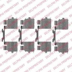 DELPHI LX0476 Disc brake elements