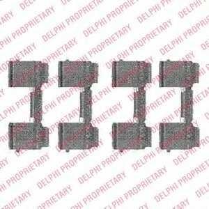 DELPHI LX0477 Disc brake elements