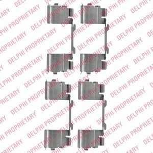 DELPHI LX0479 Комплектующие, колодки дискового тормоза