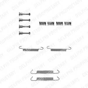 DELPHI LY1042 Монтажний комплект колодки