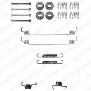 DELPHI LY1261 Комплектующие, тормозная колодка