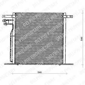 DELPHI TSP0225126 Конденсер кондиціонера