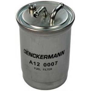 Фільтр паливний VAG Diesel (дві трубки) a120007 denckermann -