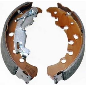 DENCKERMANN B120108 Барабанні гальмівні колодки Citroen Nemo/Fiat PuntoOpel Corsa D/Peugeot Bipper 1.4/1.4HDI 08-