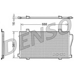DENSO DCN23017 Радиатор кондиционера