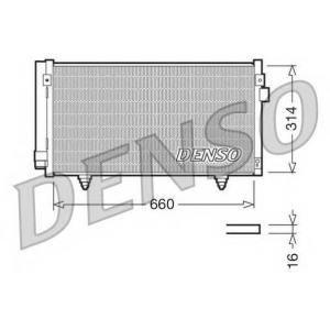 DENSO DCN36003 Радиатор кондиционера