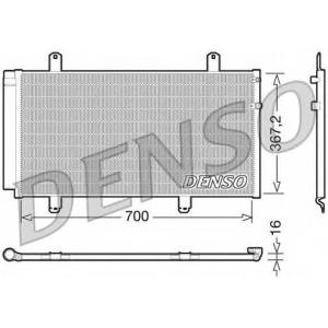 DENSO DCN51004 Конденсатор, кондиционер