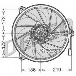DENSO DER21010 Вентилятор, охлаждение двигателя