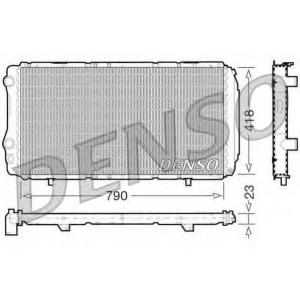 DENSO DRM09074 Радиатор, охлаждение двигател