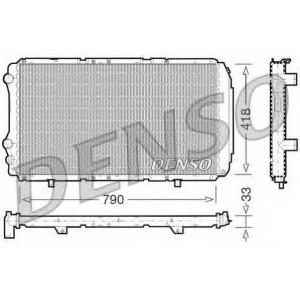 DENSO DRM09076 Радиатор, охлаждение двигателя