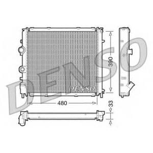 DENSO DRM23011 Радиатор, охлаждение двигател