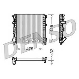 DENSO DRM23015 Радиатор, охлаждение двигател