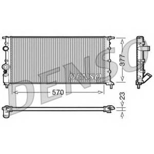 DENSO DRM23054 Радиатор, охлаждение двигател