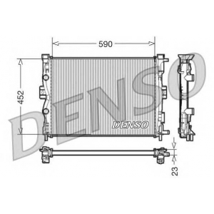 DENSO DRM23055 Радиатор, охлаждение двигател