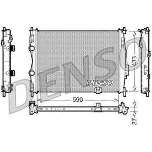 DENSO DRM46019 Основной радиатор (двигателя)