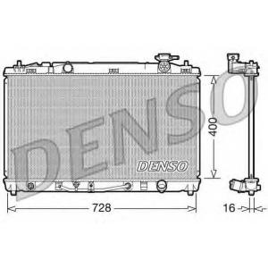 DENSO drm50042 Радиатор охлаждения двигателя