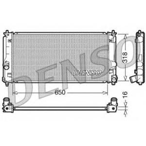DENSO drm50044 Радиатор охлаждения двигателя