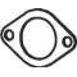 DINEX 38803 Прокладка глушителя