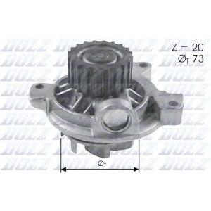 DOLZ A280 Водяний насос AUDI 100 (4A, C4) / VW LT 28-46 II LT Mk II LT28-50 TRANSPORTER