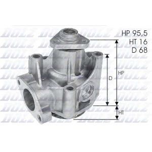 Водяной насос l135 dolz - FIAT TIPO (160) Наклонная задняя часть 2.0 i.e. (160.AJ)