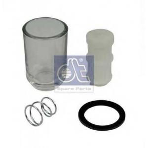 DT 4.90502 Корпус из прозрачного материала, ручной насос