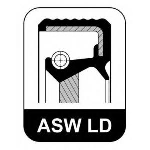 ELRING 033.377 115x140x13,5 ASW FPM/ACM LD