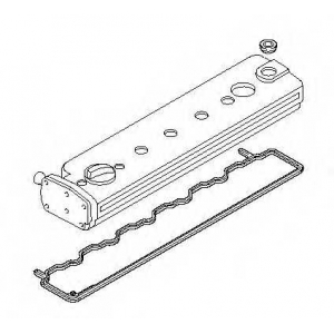 ELRING 075.520 MB Valve cover set