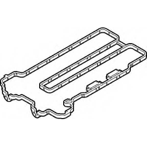 ELRING 104.110 Прокладка крышки клапанной OPEL X12XE/Z12XEP/Z14XEP (пр-во Elring)