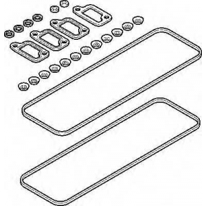 ELRING 108.066 VOLVO Valve cover set