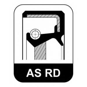 ELRING 227.620 48x62x8 / AS FPM RD Oil seal/cranksh