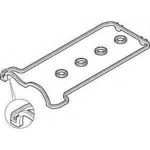 Комплект прокладок, крышка головки цилиндра 475850 elring - MERCEDES-BENZ SL (R129) кабрио 500 (129.067)