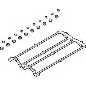 ELRING 569.460 Комплект прокладок клапанной крышки FORD Focus 98-