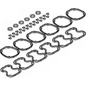 ELRING 570.478 VOLVO Valve cover set