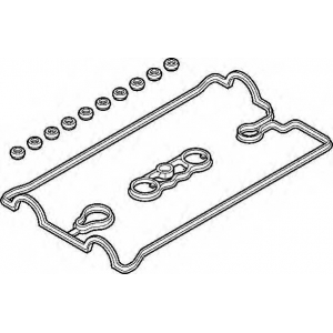 ELRING 658.180 TOYOT Valve cover set