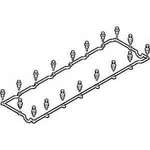 ELRING 714.660 Набор прокладок клапанной крышки (D2066/D2676)
