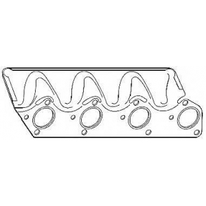 ELRING 748.803 BMW Gasket exhaust manifold