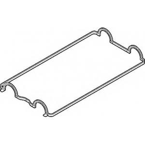 Прокладка, крышка головки цилиндра 752630 elring - ROVER 200 Наклонная задняя часть (XW) Наклонная задняя часть 216 GTi