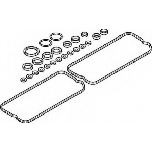 ELRING 755.036 VOLVO Valve cover set