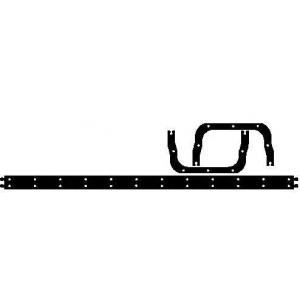 ELRING 820.793 DEUTZ-KHD Gasket EWP/oil pan
