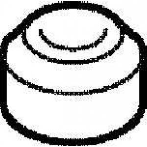 ELRING 915.017 Прокладка болта клапанной крышки