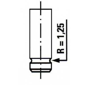 ET ENGINETEAM VE0005 Выпускной клапан