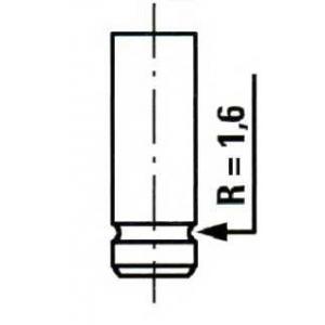 ET ENGINETEAM VE0029 Выпускной клапан
