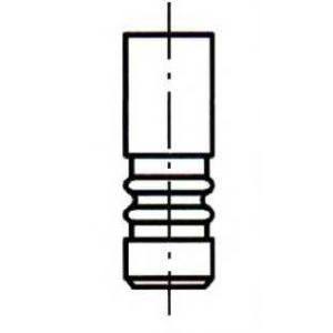 ET ENGINETEAM VE0107 Выпускной клапан