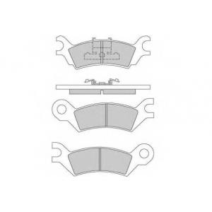 E.T.F. 12-0251 Комплект тормозных колодок, дисковый тормоз Мазда 929