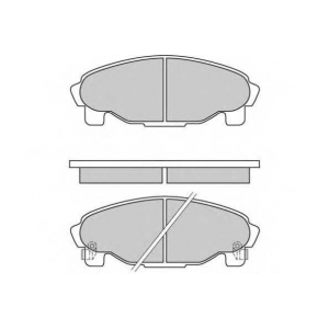 E.T.F. 12-0601 Комплект тормозных колодок, дисковый тормоз Дайхатсу