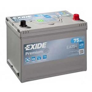 EXIDE EA754 Стартерная аккумуляторная батарея; Стартерная аккумуляторная батарея