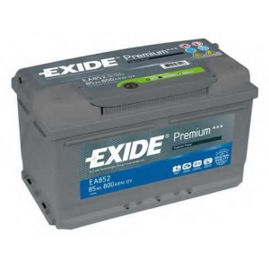 EXIDE EA852 Аккумулятор   85Ah-12v Exide PREMIUM(315х175х175),R,EN800